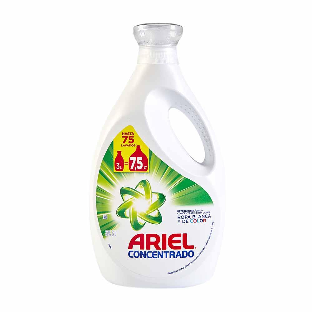 Detergente líquido Concentrado Galonera 3000Ml