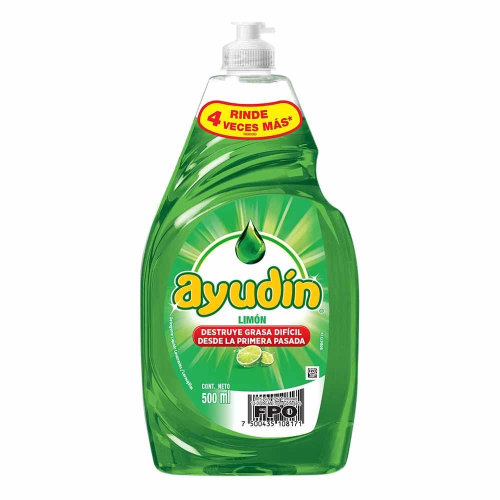 Lavavajilla líquido Limón Botella 500Ml