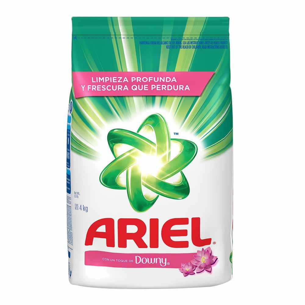 Detergente en polvo con downy
