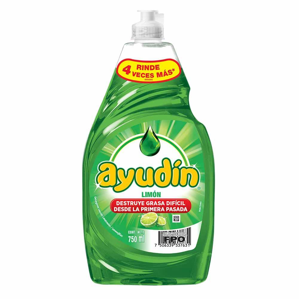 Lavavajilla líquido Limón Botella 750Ml