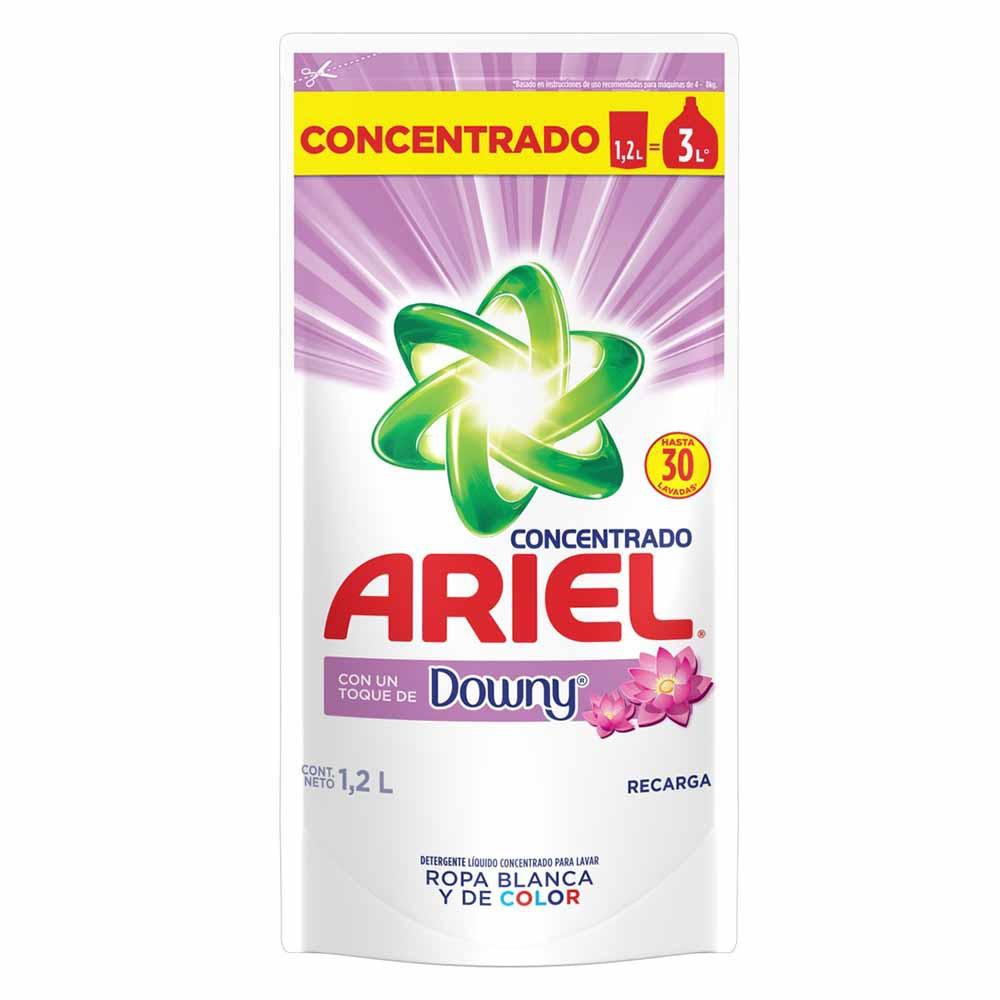 Detergente Líquido Concentrado con Downy Doypack 1.2L