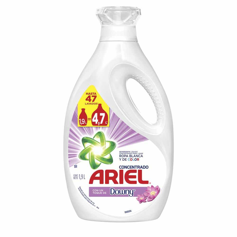 Detergente Líquido Concentrado con Downy