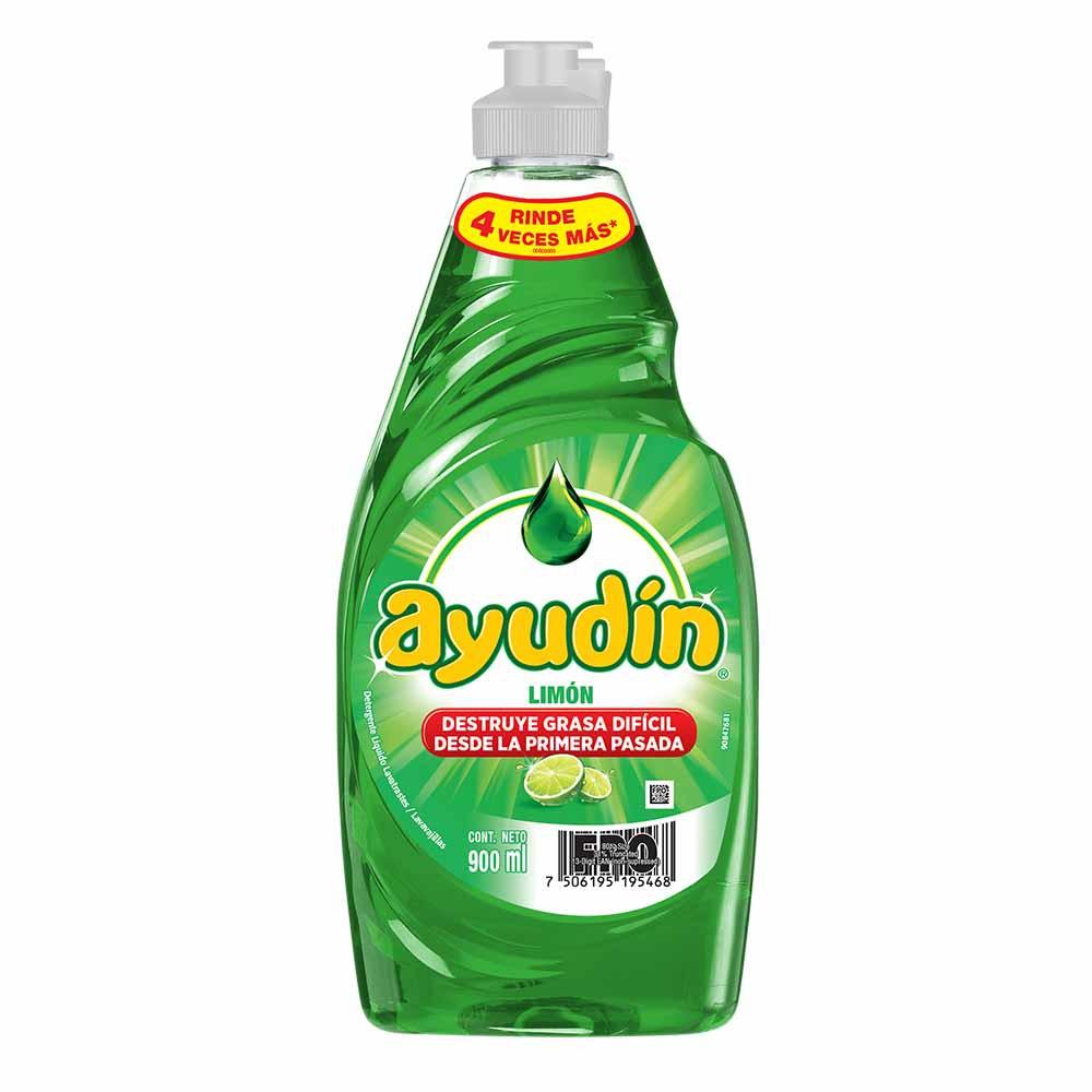 Lavavajilla líquido limón