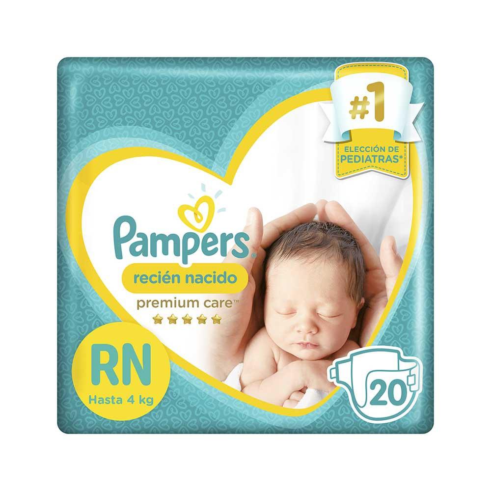 Pañales para Bebé Recién Nacido Paquete 20un