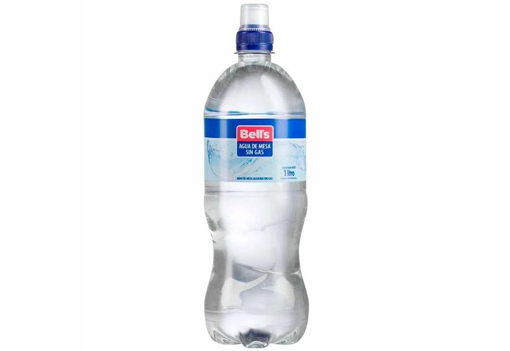 Agua de mesa sin gas