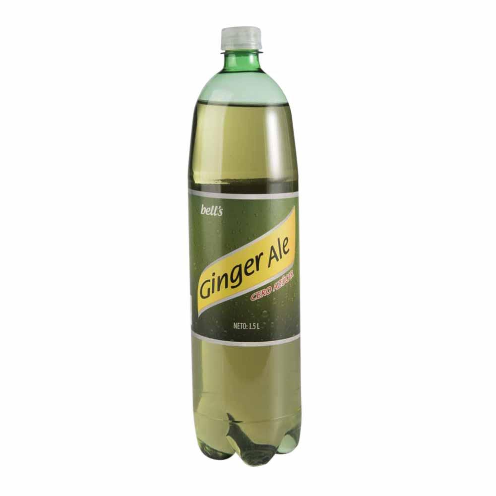 Gaseosa ginger ale light