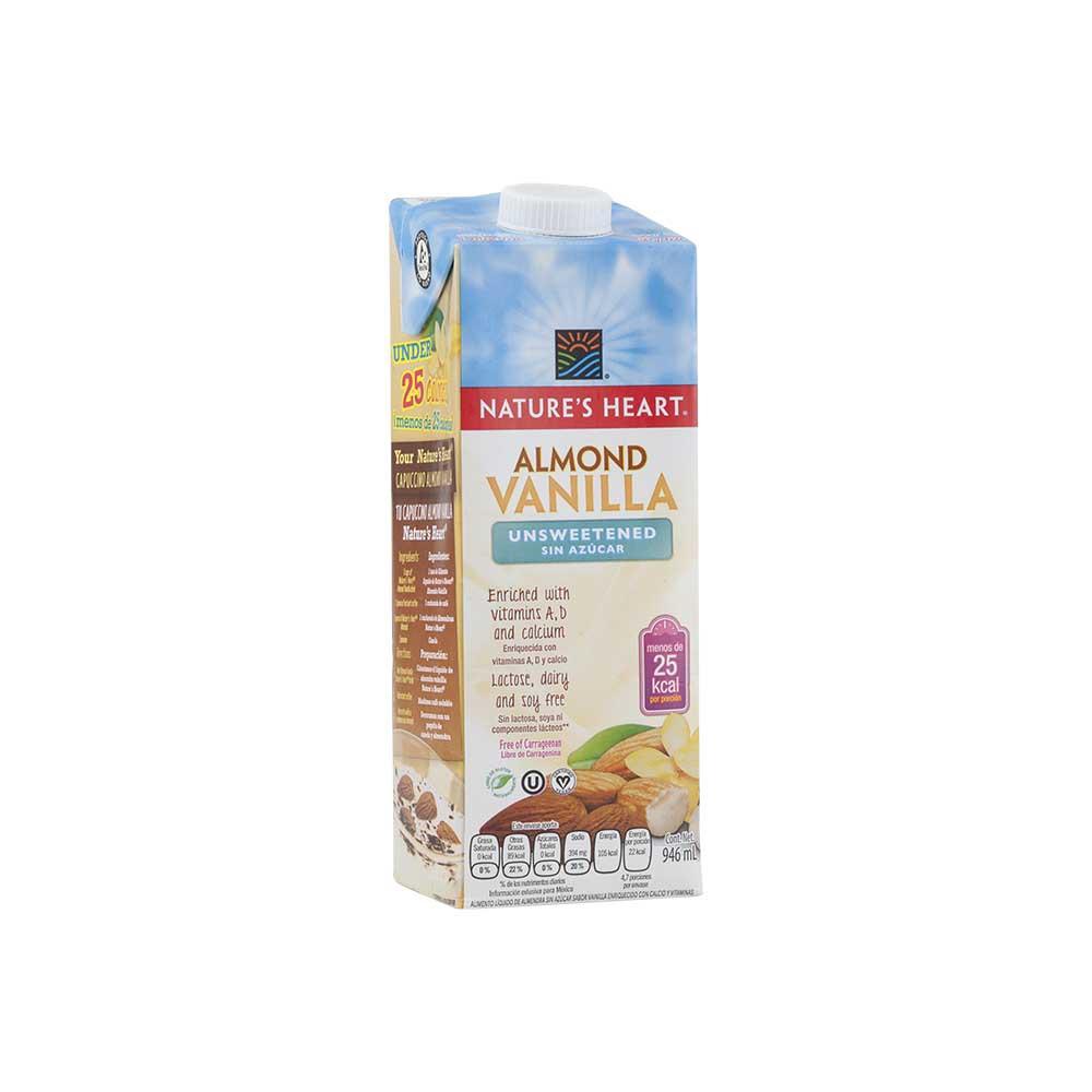 Bebida de almendra vainilla sin azúcar
