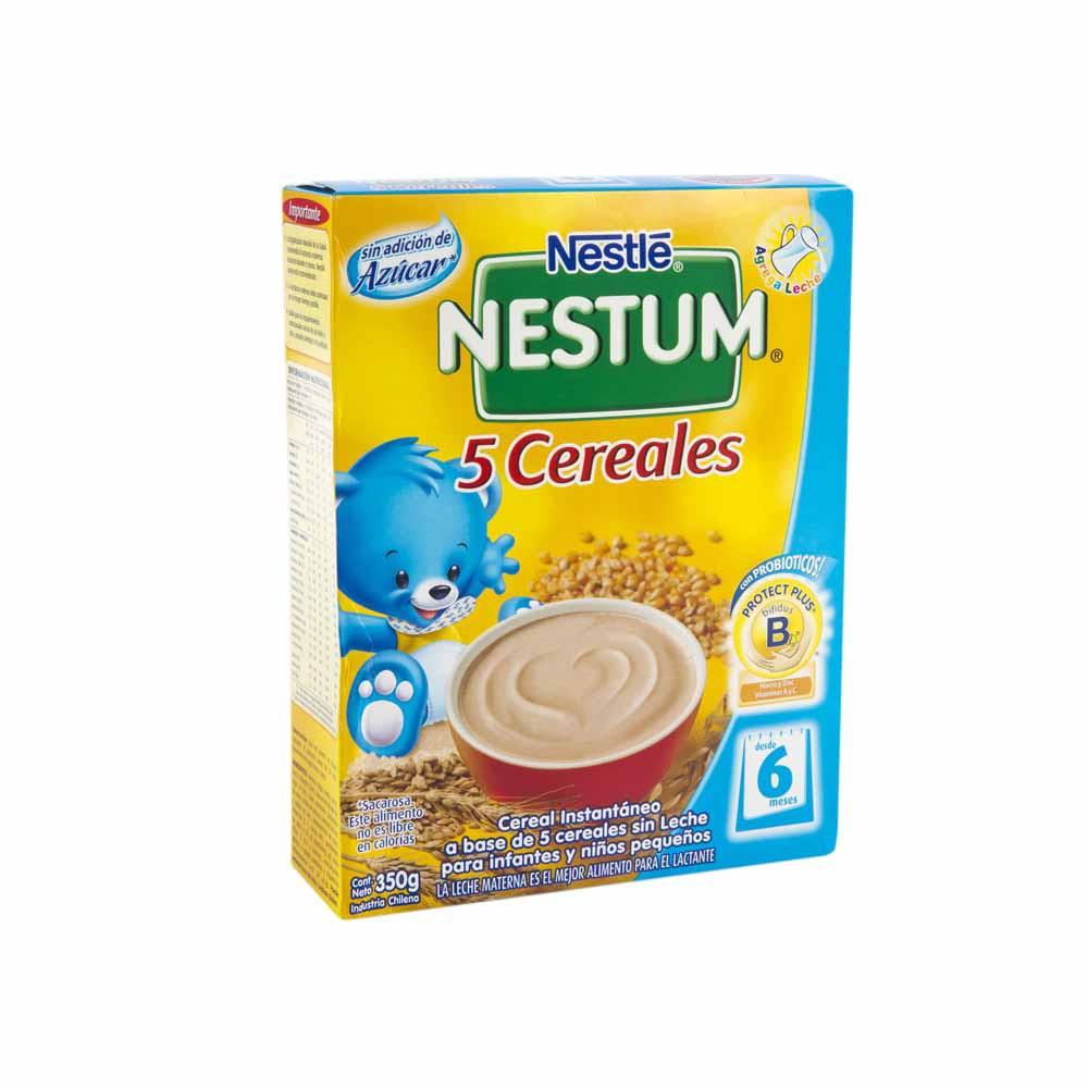 Cereal Infantil NESTLÉ Nestum 5 Cereales Caja 350g