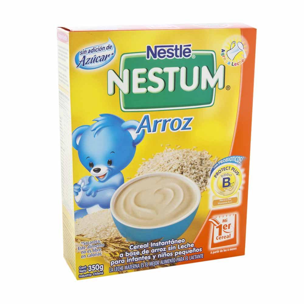 Cereal infantil NESTLÉ Nestum Arroz Caja 350Gr