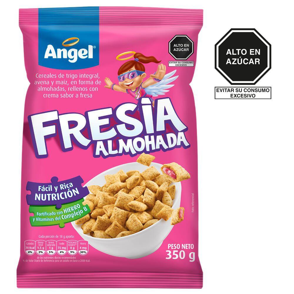 Cereal trigo de avena y maíz sabor fresa