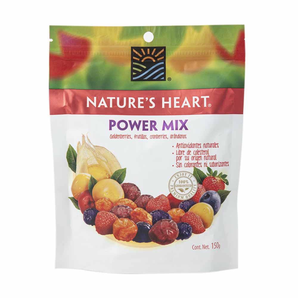 Mix de frutas deshidratadas snack power