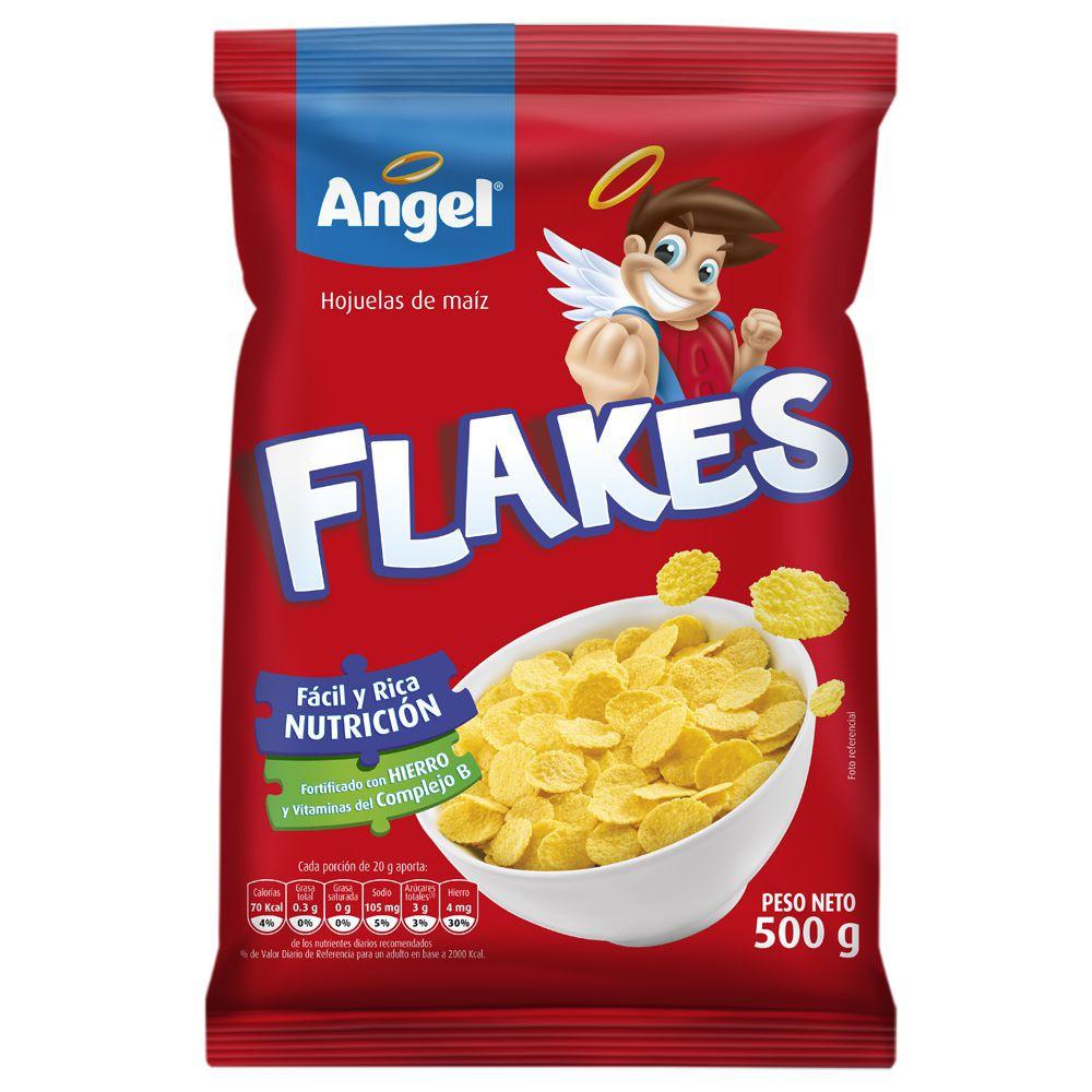 Cereal Flakes hojuelas de maíz