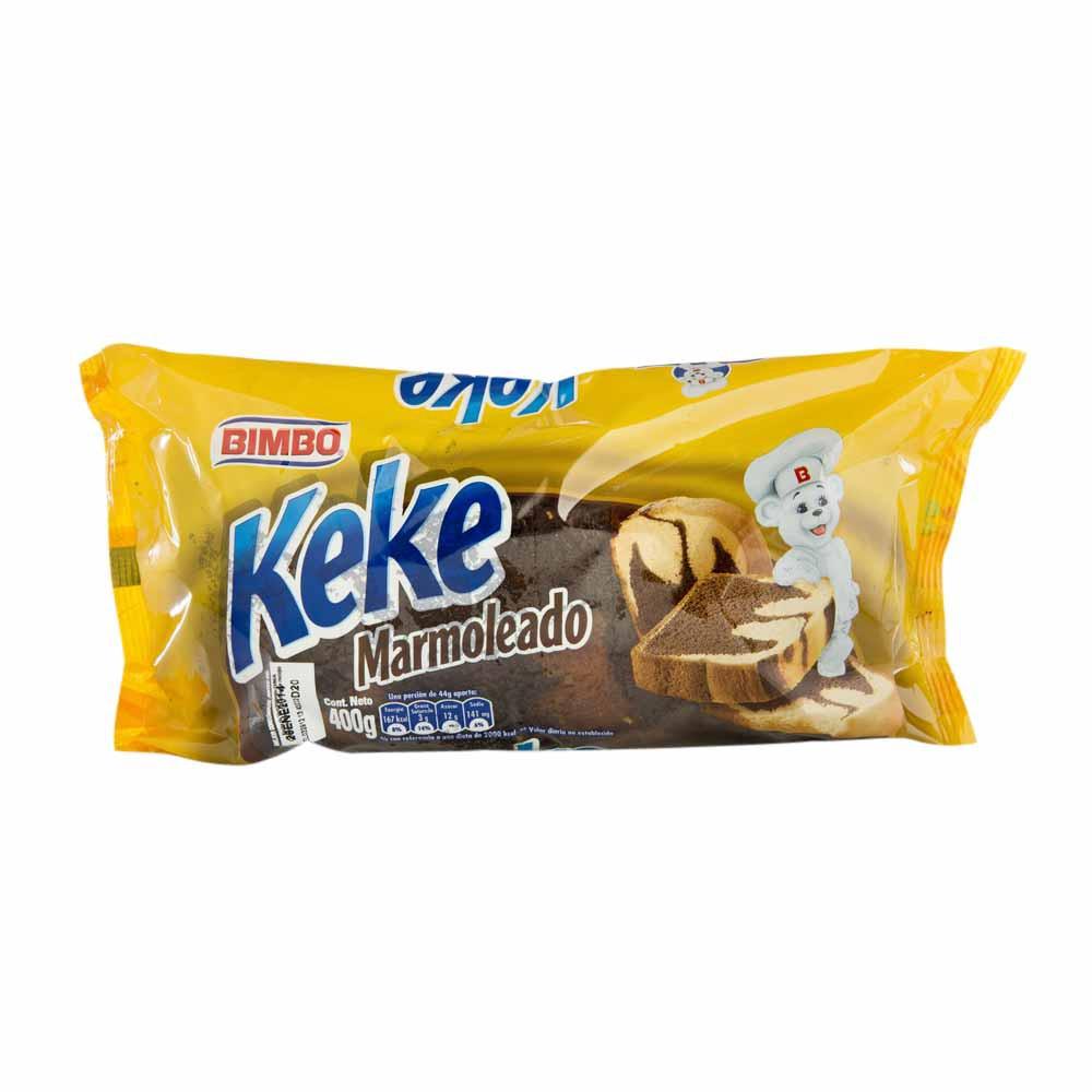 Keke Marmoleado Bolsa 400Gr
