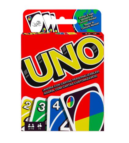 Juego de cartas UNO Uno, Para mayores de 5 años