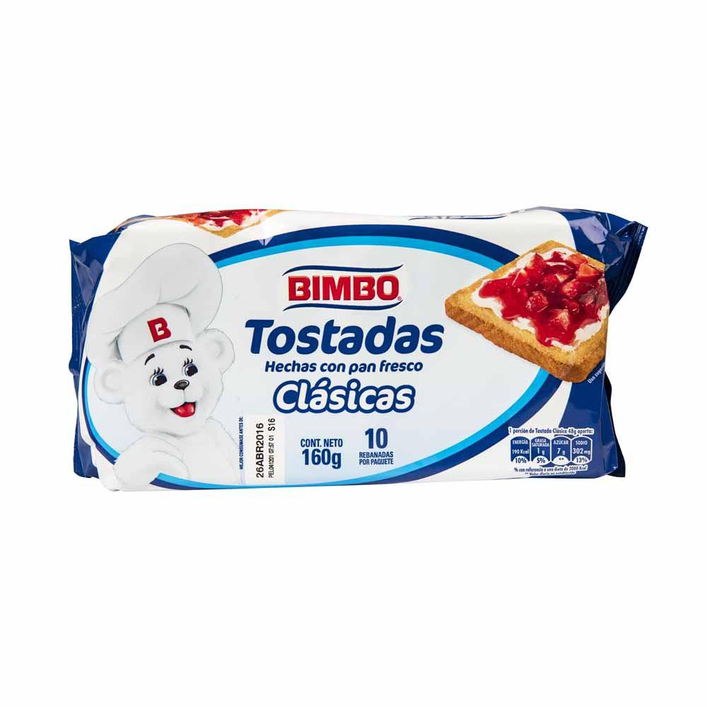 Tostadas Clásicas Paquete 10un