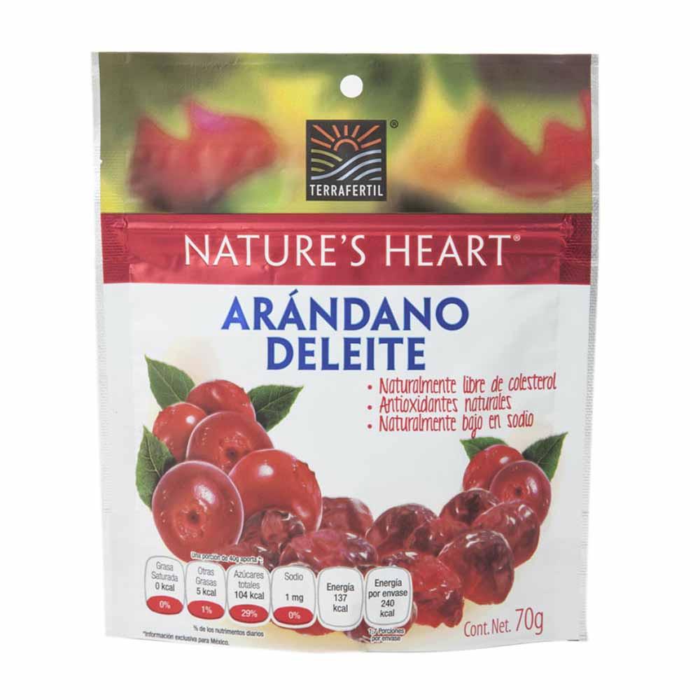 Snack de Arándanos NATURE'S HEART Arándano Deleite Doypack 70g