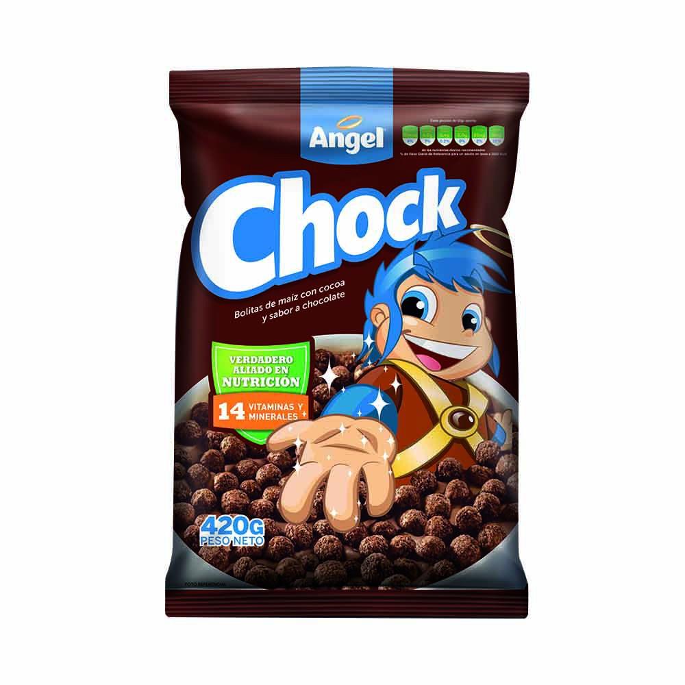Cereal maíz trigo y avena sabor chocolate