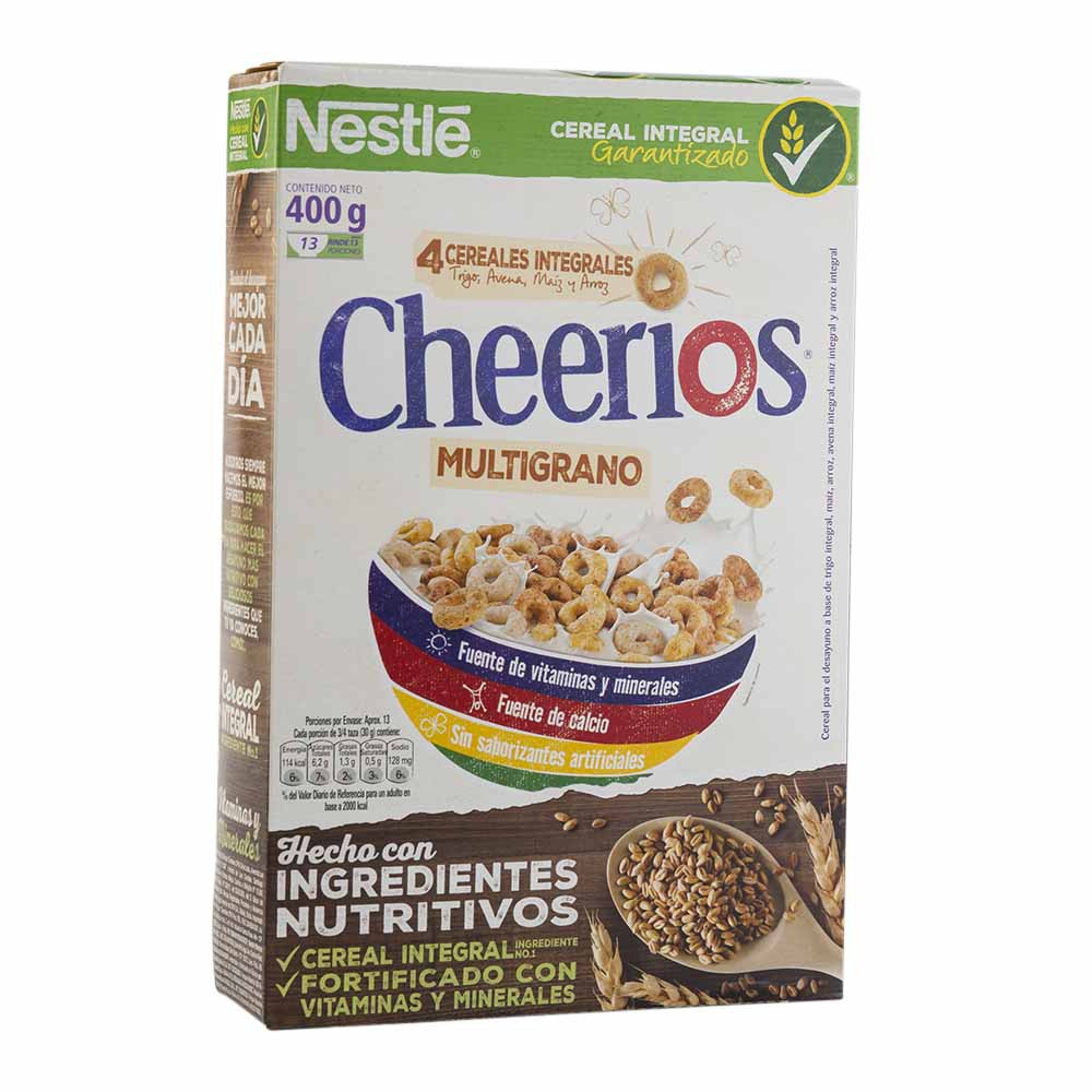 Cereal multigrano cherios