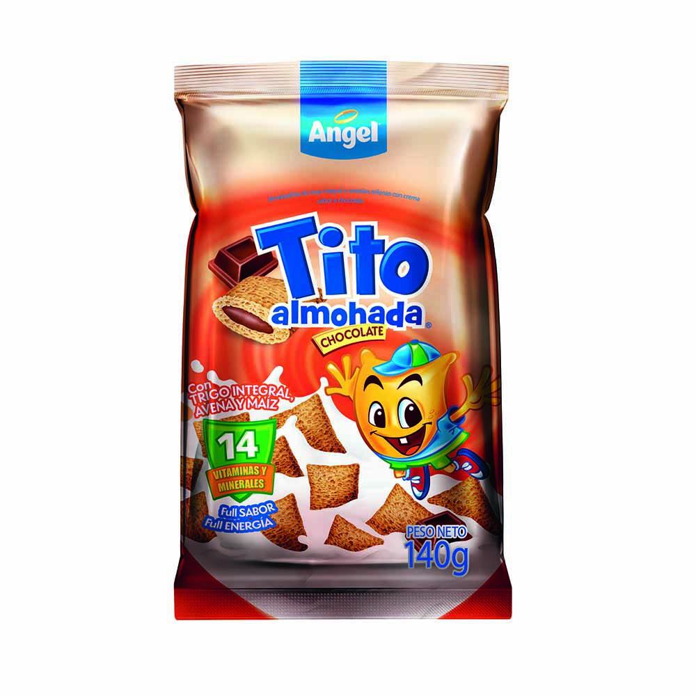 Cereal Trigo integral de avena y maíz sabor chocolate Bolsa 140Gr