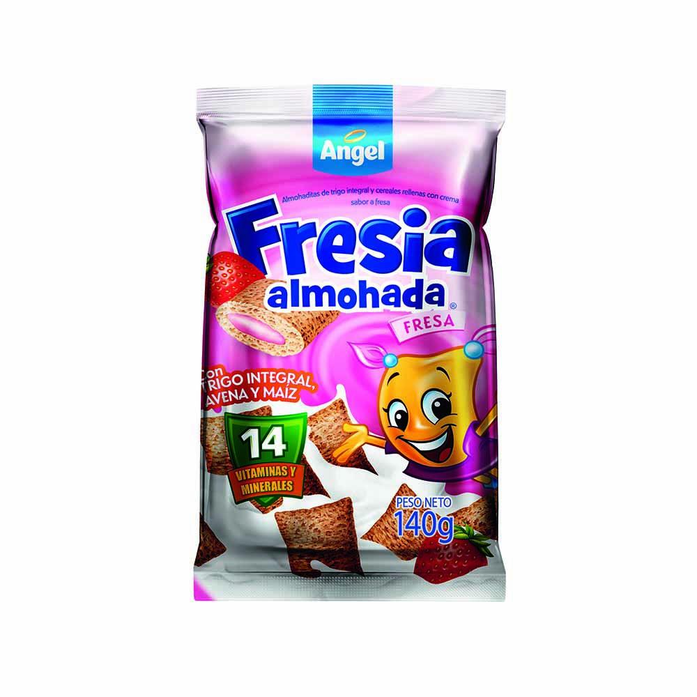 Cereal trigo integral de avena y maíz sabor fresa