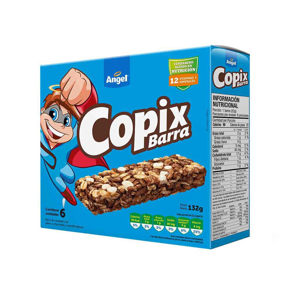 Cereal Barra Copix Caja 6un