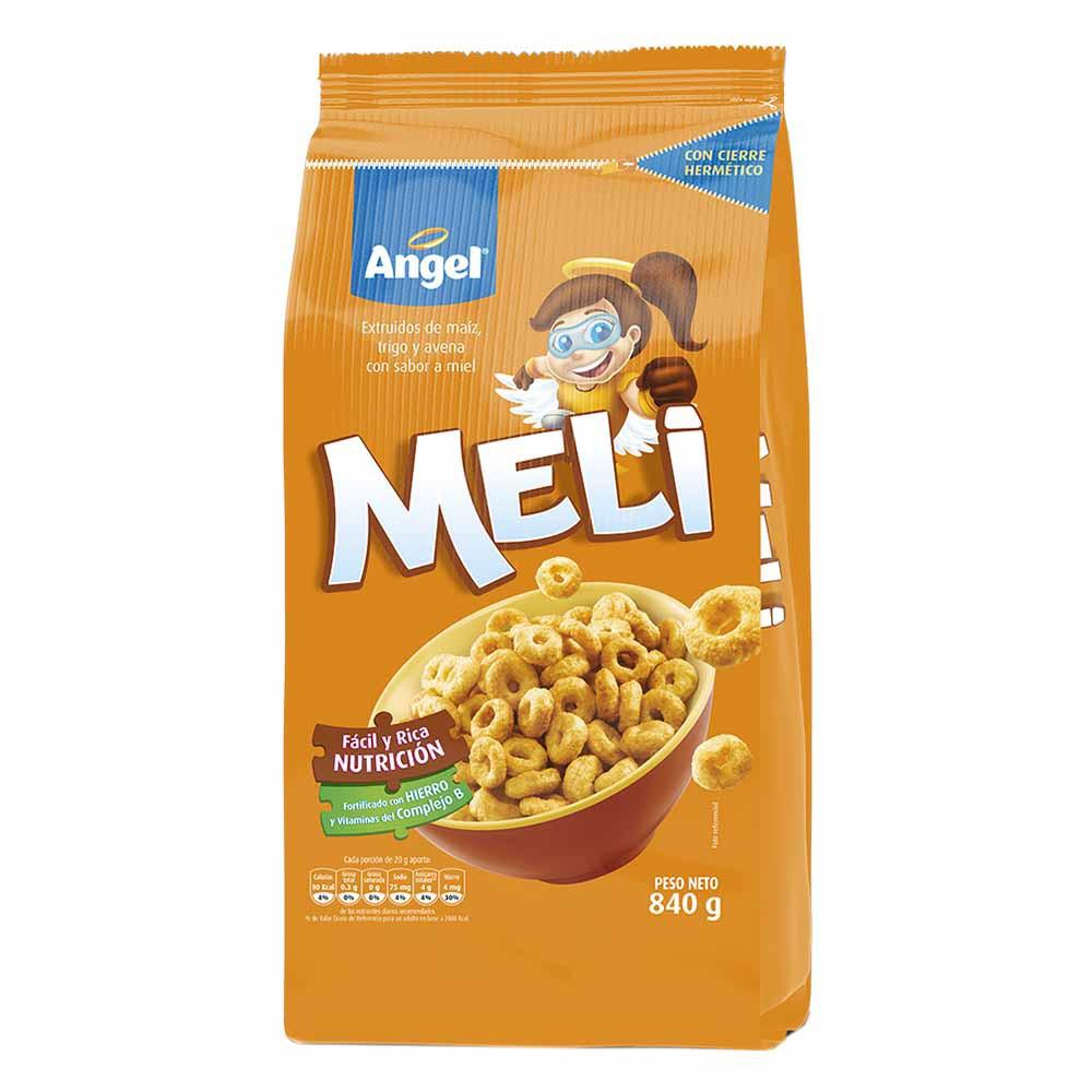 Cereal aritos de maíz trigo y miel