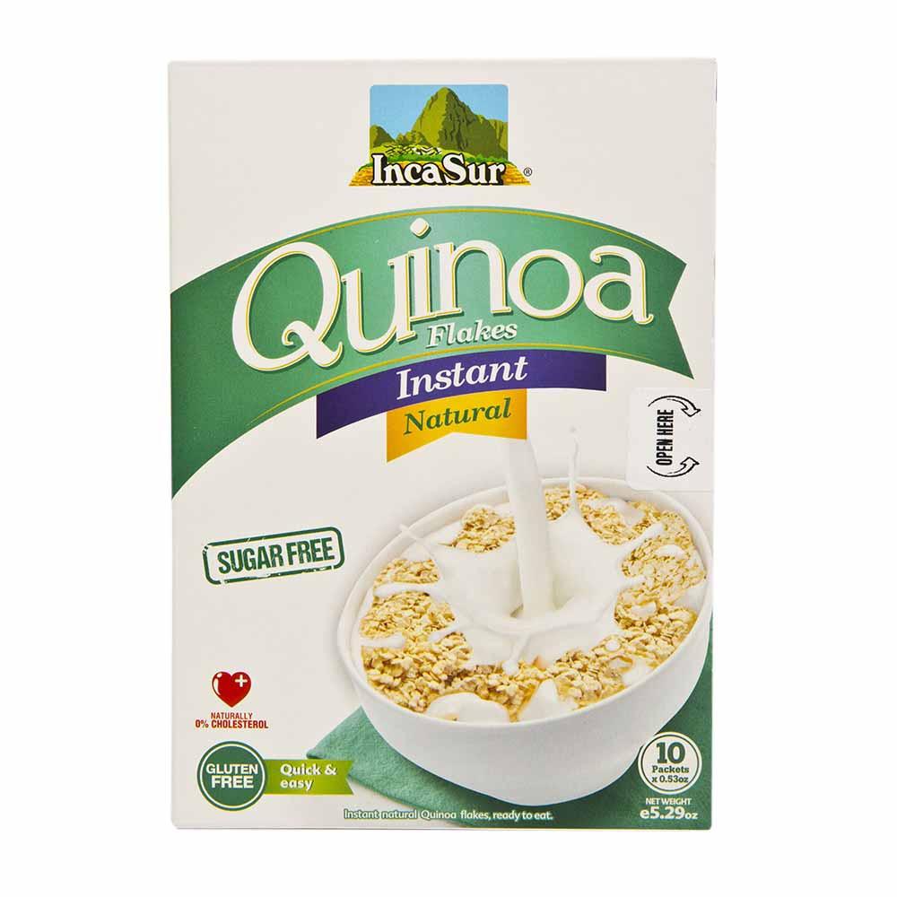 Cereal hojuelas de quinua sin azúcar