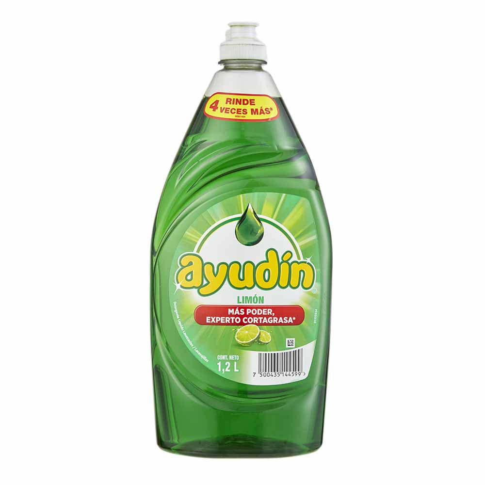 Lavavajilla Líquido Limón Botella 1.2L