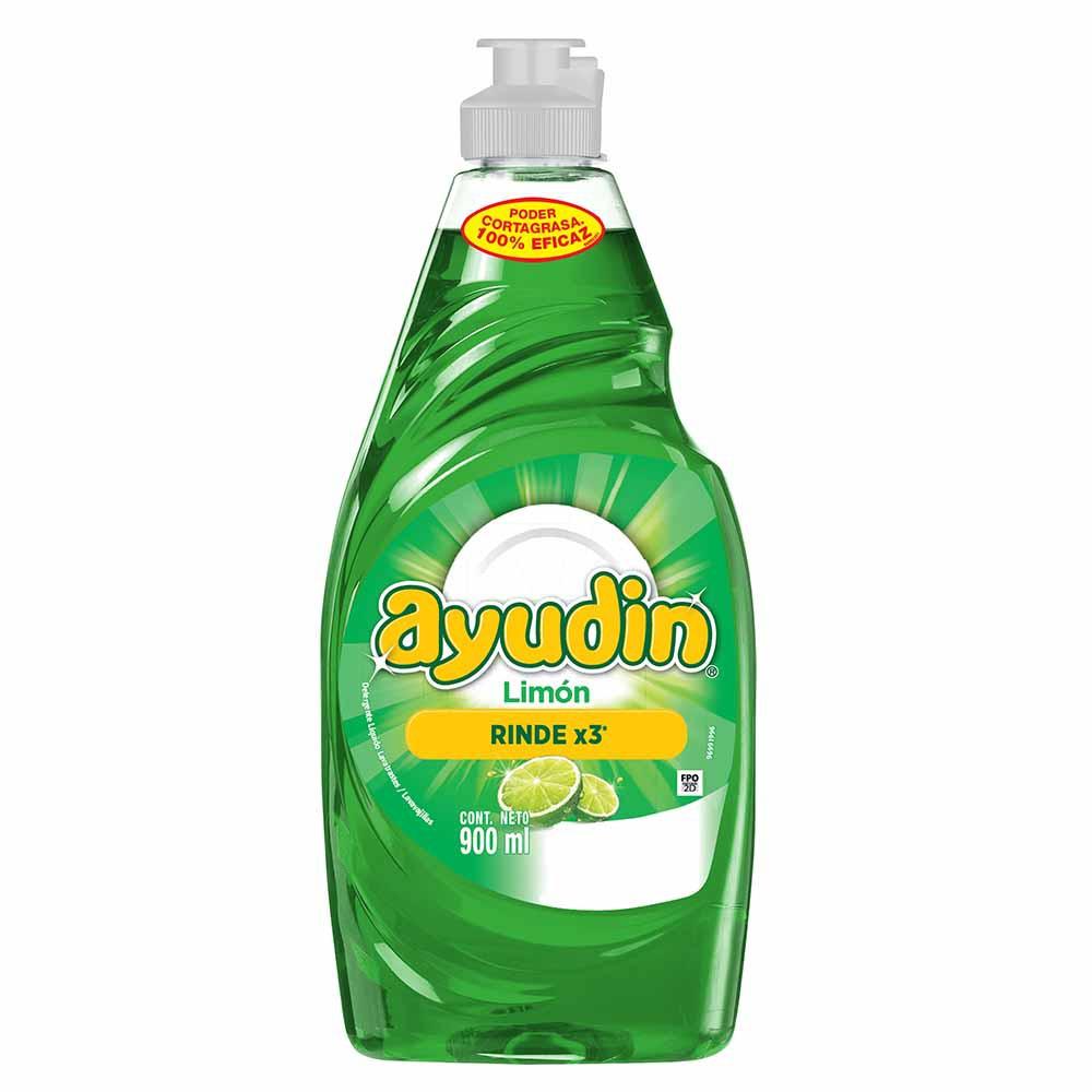 Lavavajilla Líquido Limón Botella 900ml