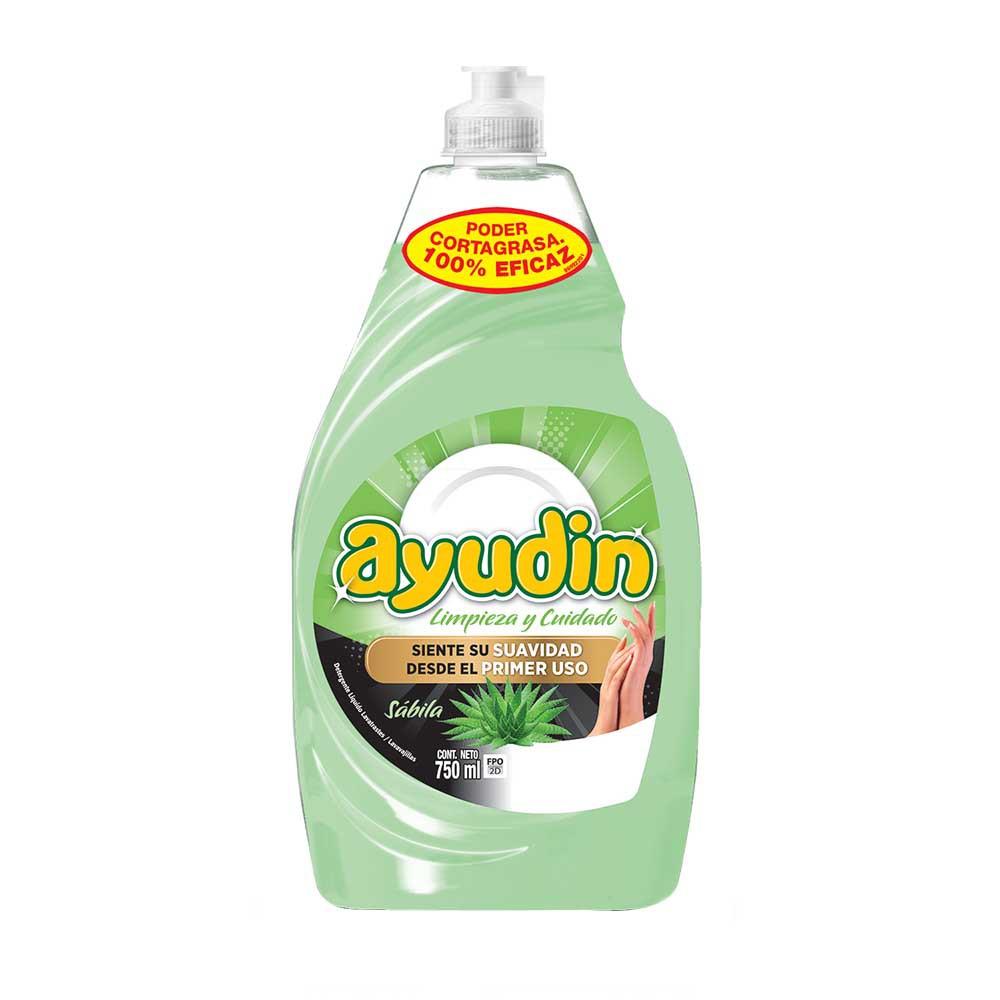 Lavavajilla líquido Sábila Botella 750Ml