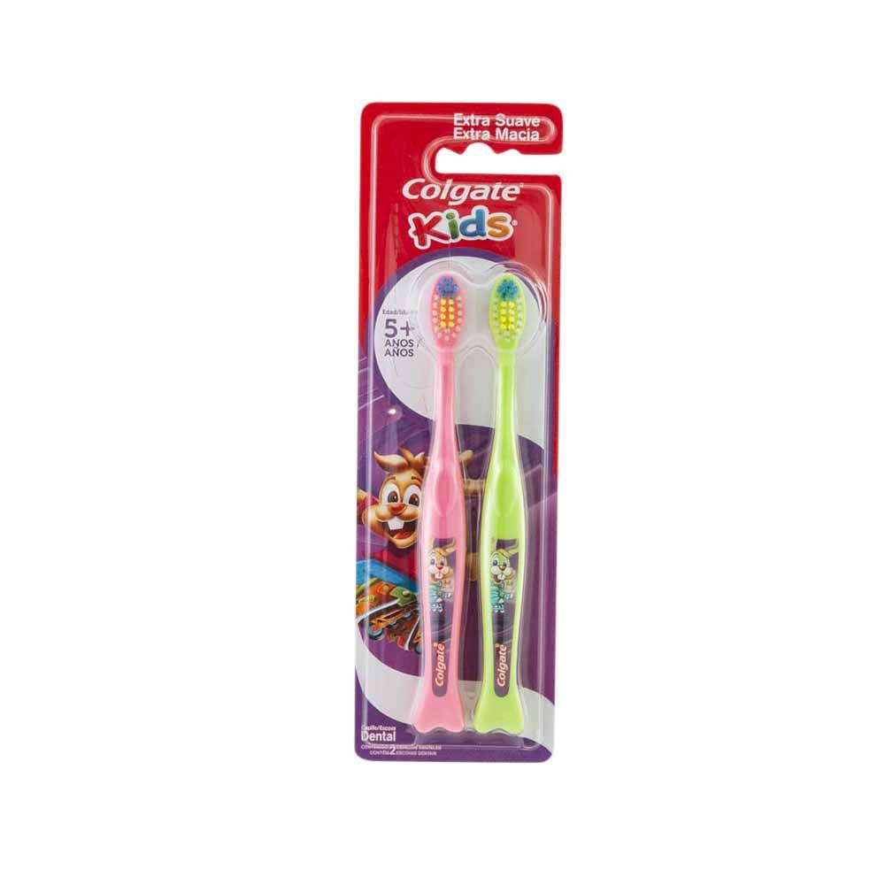 Cepillo Dental 5+ Años Extra Suave Paquete 2un