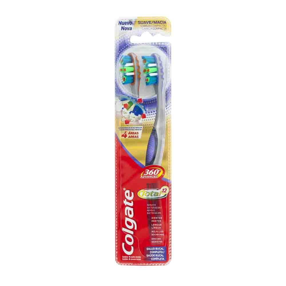 Cepillo Dental 360 Total Advance Paquete 2un