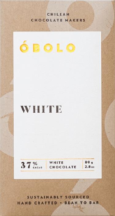 Barra Chocolate White  37% Cacao Barra 80 g