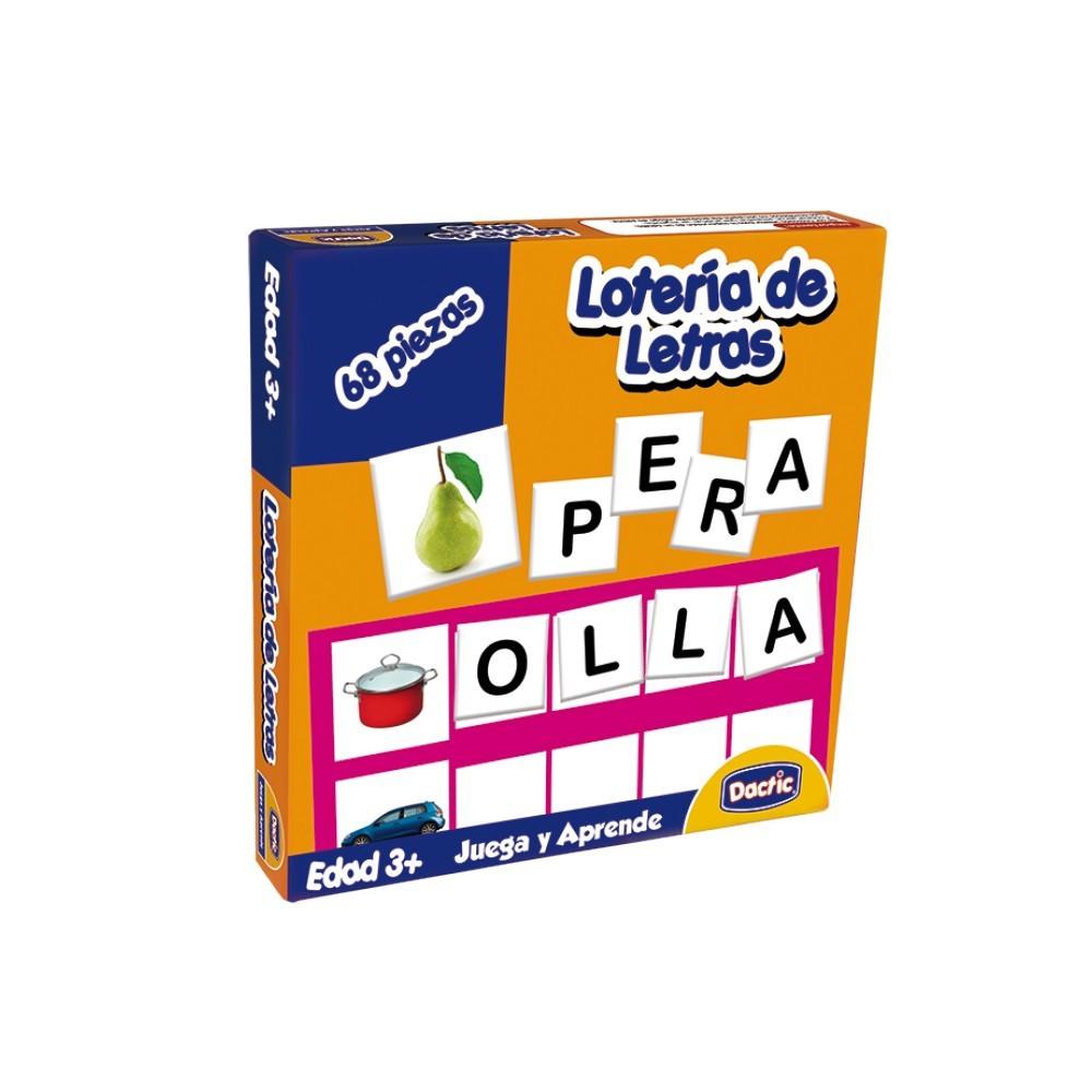 Lotería de letras unidad