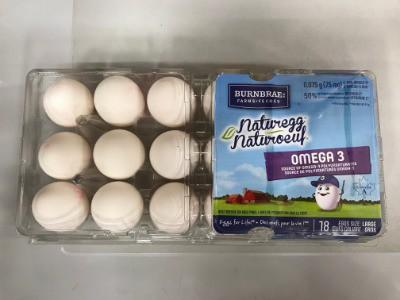 Naturegg omega 3 white eggs L