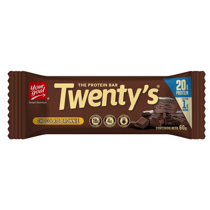 Twenty´s chocolate brownie 60g