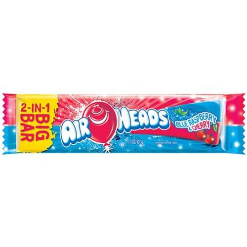 Airheads big bar blue raspberry/cherry