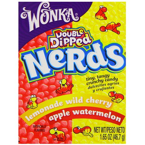 Nerds double dipped flavors