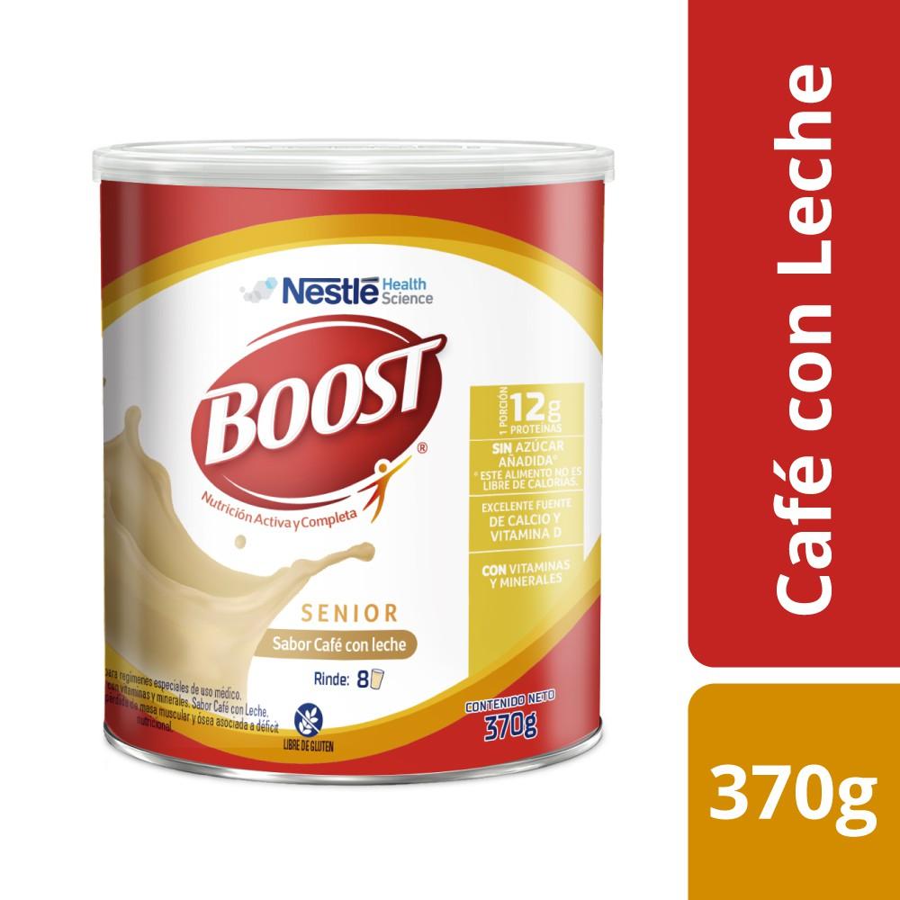 Alimento en polvo senior café con leche