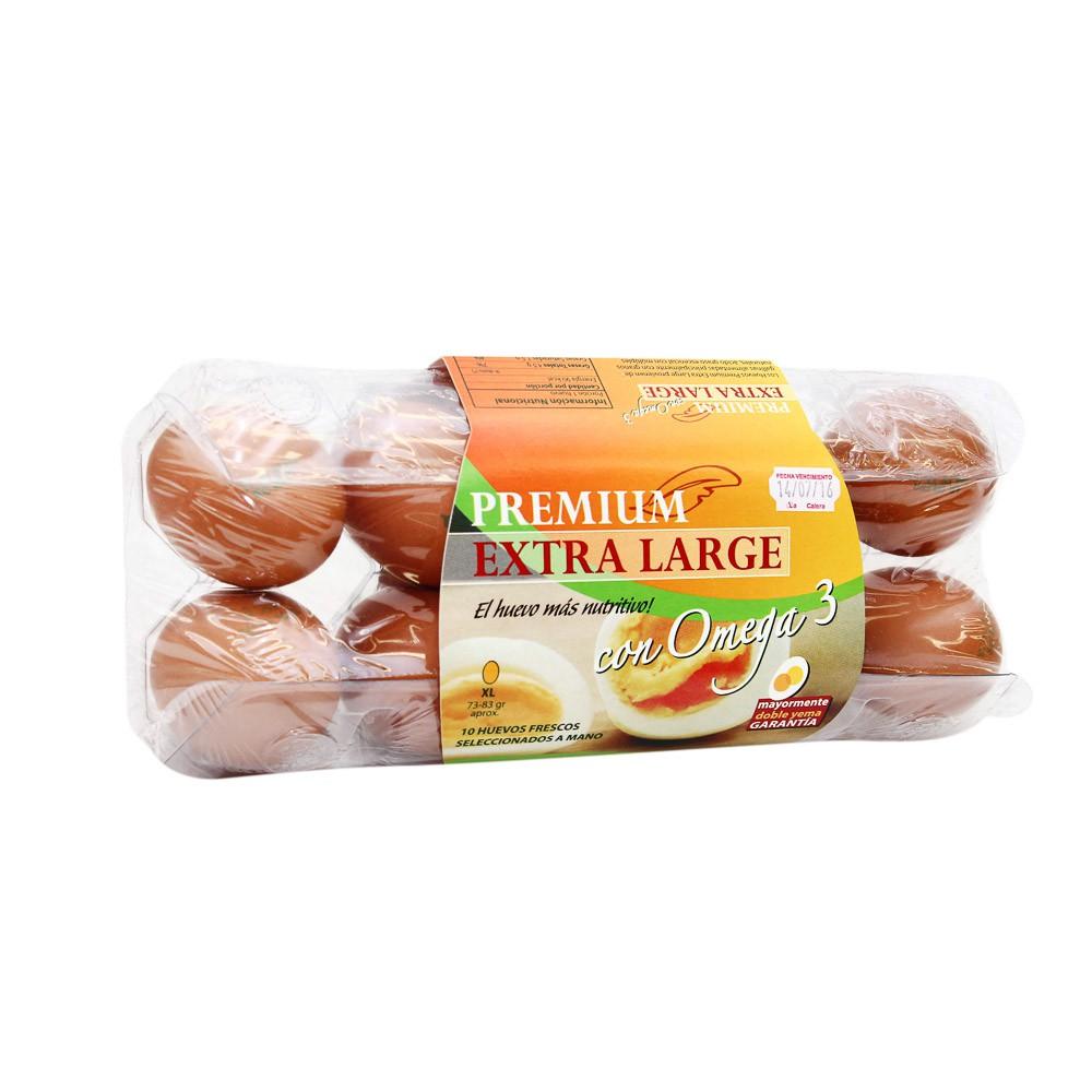 Huevos pardos premium