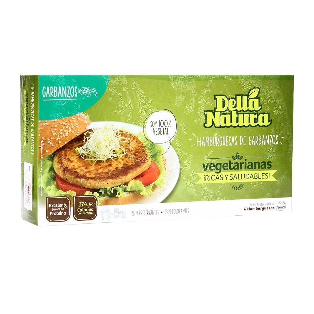 Hamburguesa Vegetariana de Garbanzo Caja 600 g