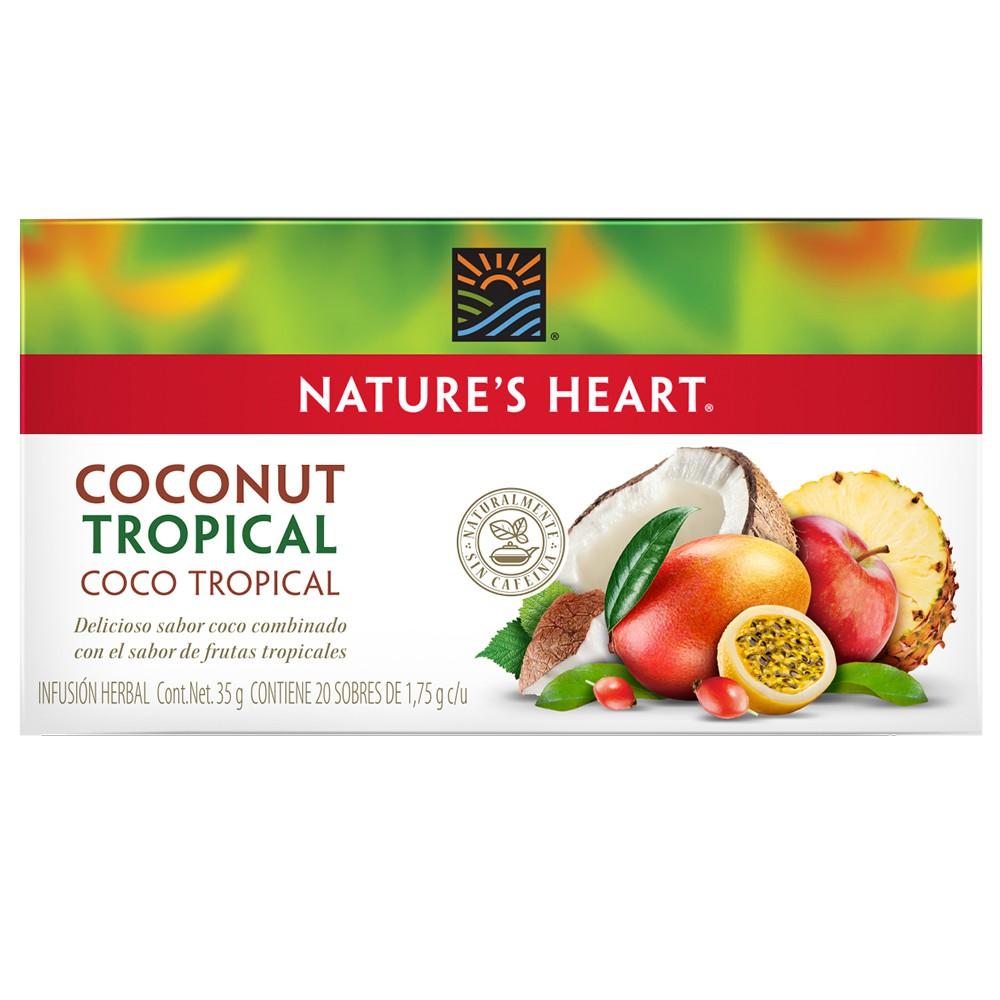 Té coco-tropical