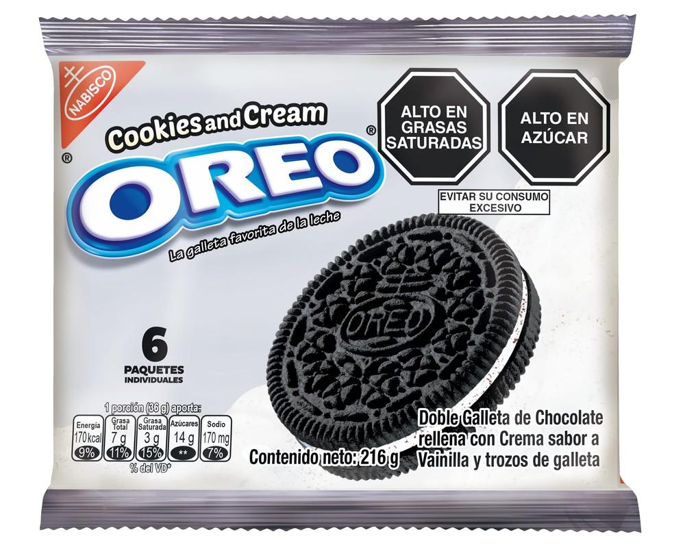 Galleta rellena de crema Cookies & Cream