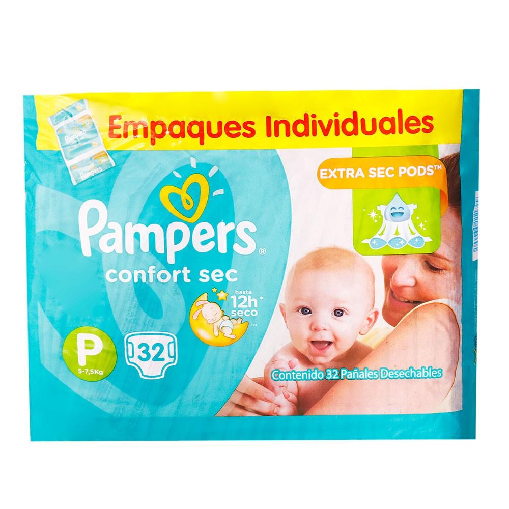 Pañales para Bebé Juegos y Sueños Talla P Paquete 32 unid