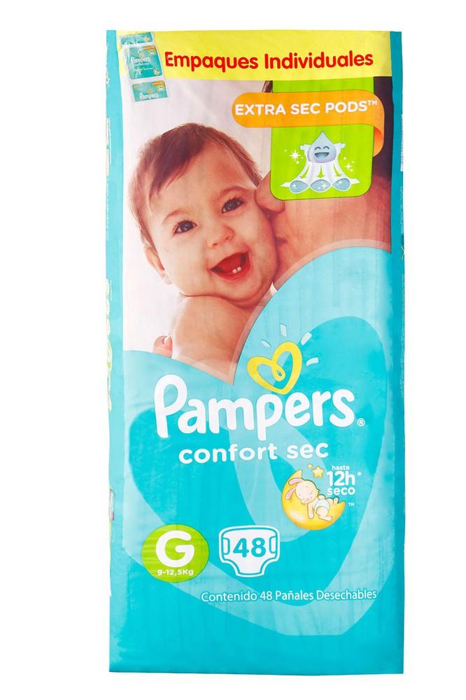 Pañales para Bebé Juegos y Sueños Talla G Paquete 48 unid