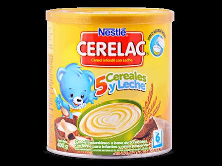 Cerelac Etapa 2 Nestlé 5 cereales