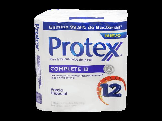 Jabón antibacterial complete12