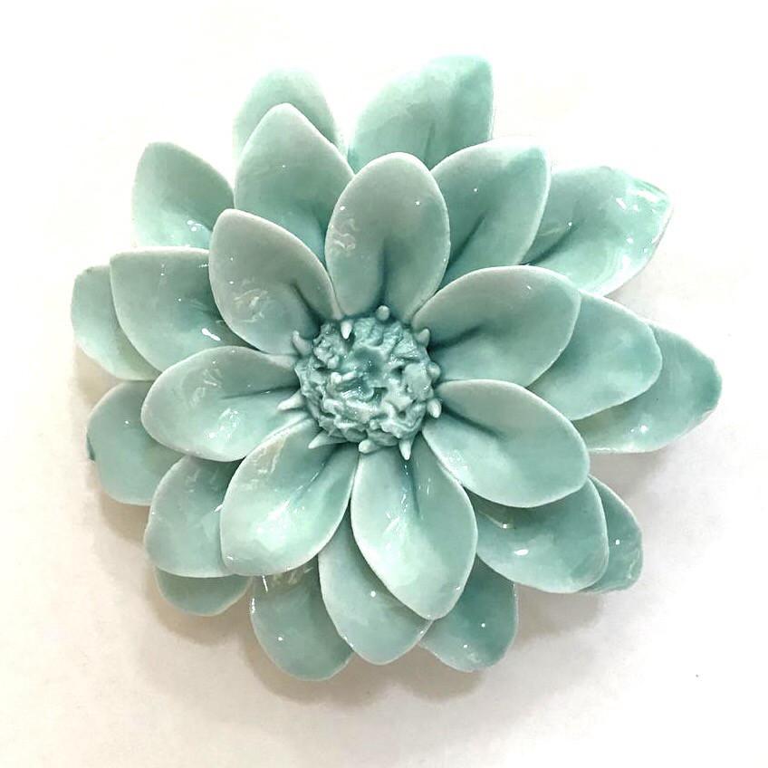Flor cerámica calipso