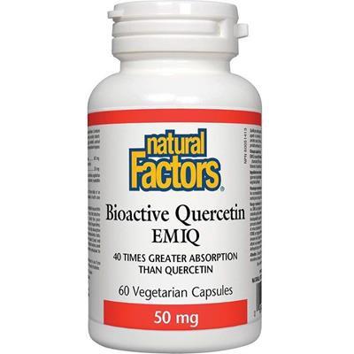 Bioactive quercetin EMIQ veg capsules 50 mg