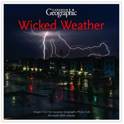Weather Events 2020.2020 12 Month Wall Calendar Wicked Weather Chapters Indigo